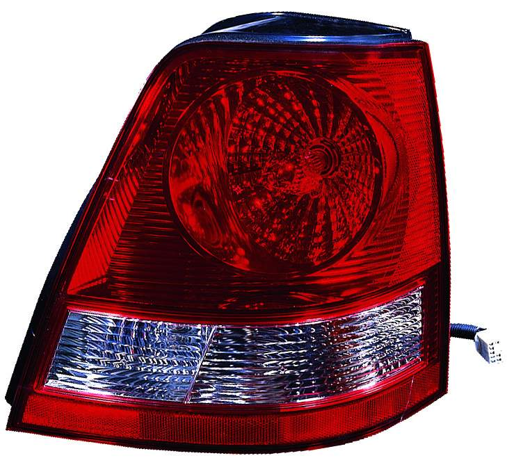Kia Sorento 2003 2004 2005 2006 tail light right passenger