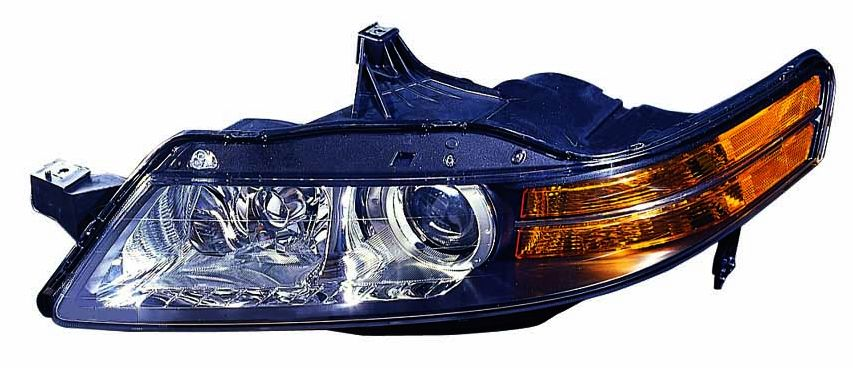 Acura TL 2006 left driver HID headlight