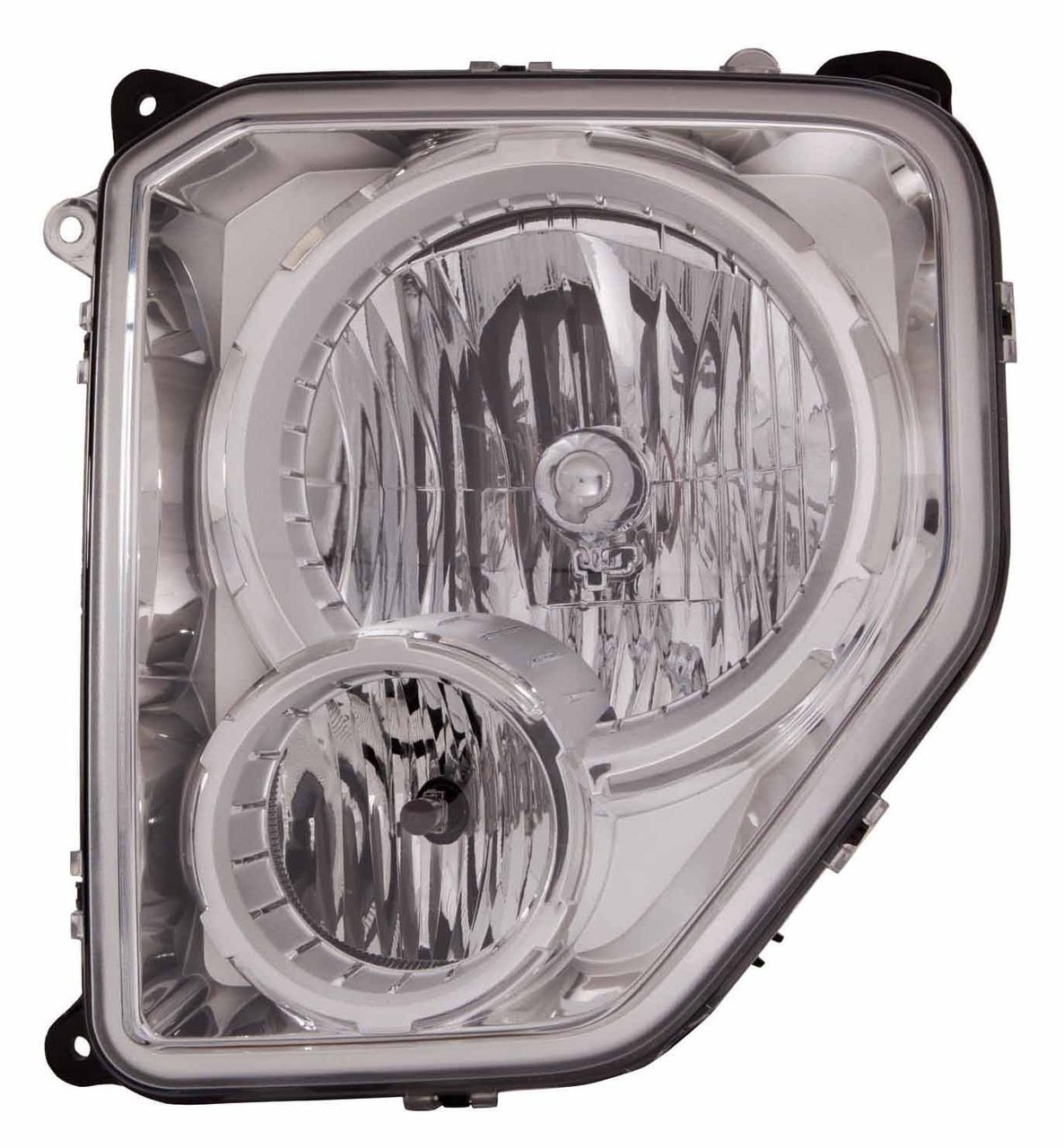 Jeep Liberty 2008 2009 2010 2011 2012 left driver headlight (with fog lamp)