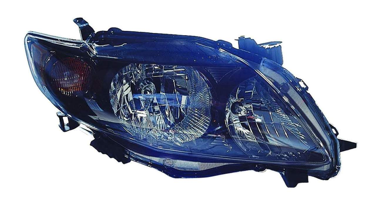 Toyota Corolla sedan 2009 2010 right passenger headlight S / XRS model
