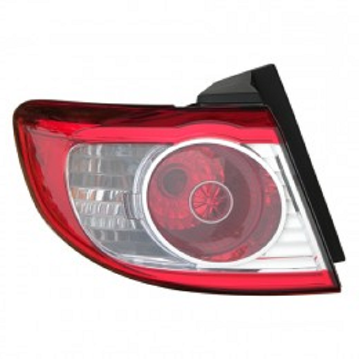 Hyundai Santa Fe 2010 2011 2012 2013 tail light left driver