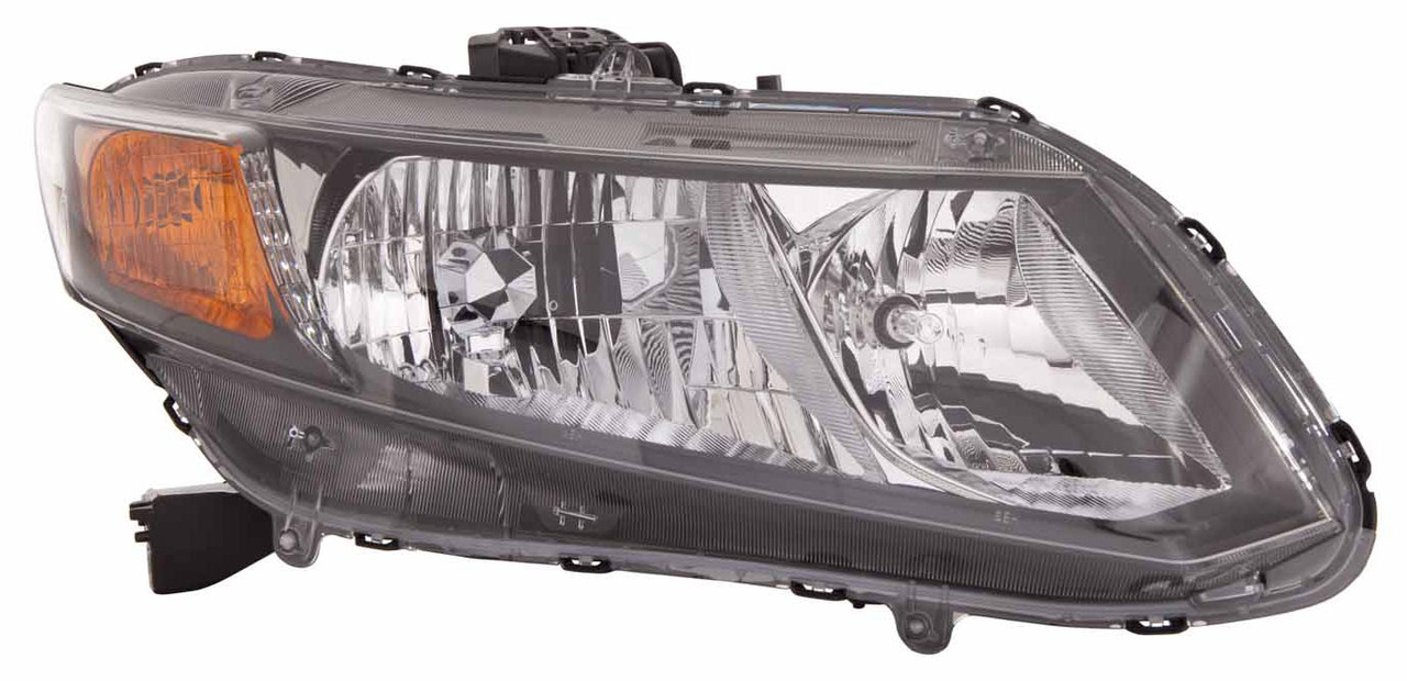 Honda Civic 2012 2013 right passenger headlight