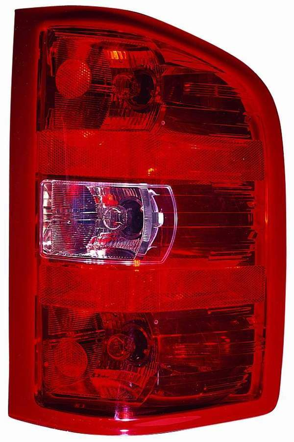 Chevrolet Silverado 1500/2500/3500 2007 2008 2009 2010 tail light right passenger