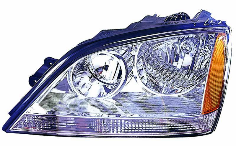 Kia Sorento 2003 2004 left driver headlight