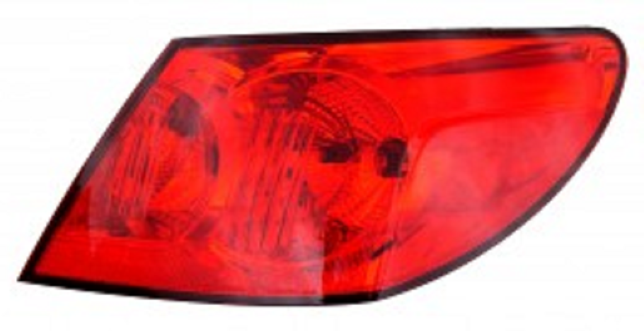 Chrysler Sebring sedan 2009 2010 tail light outer right passenger