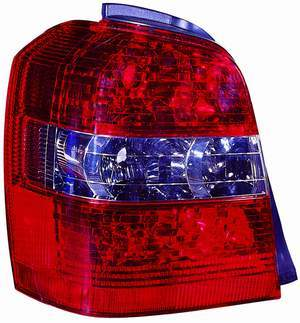 Toyota Highlander 2004 2005 2006 2007 tail light left driver