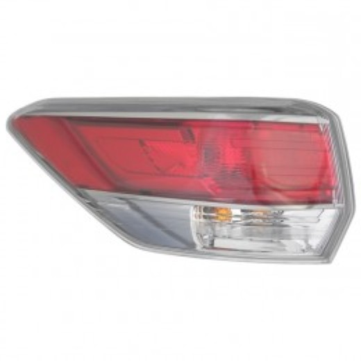 Toyota Highlander 2014 2015 2016 tail light outer left driver