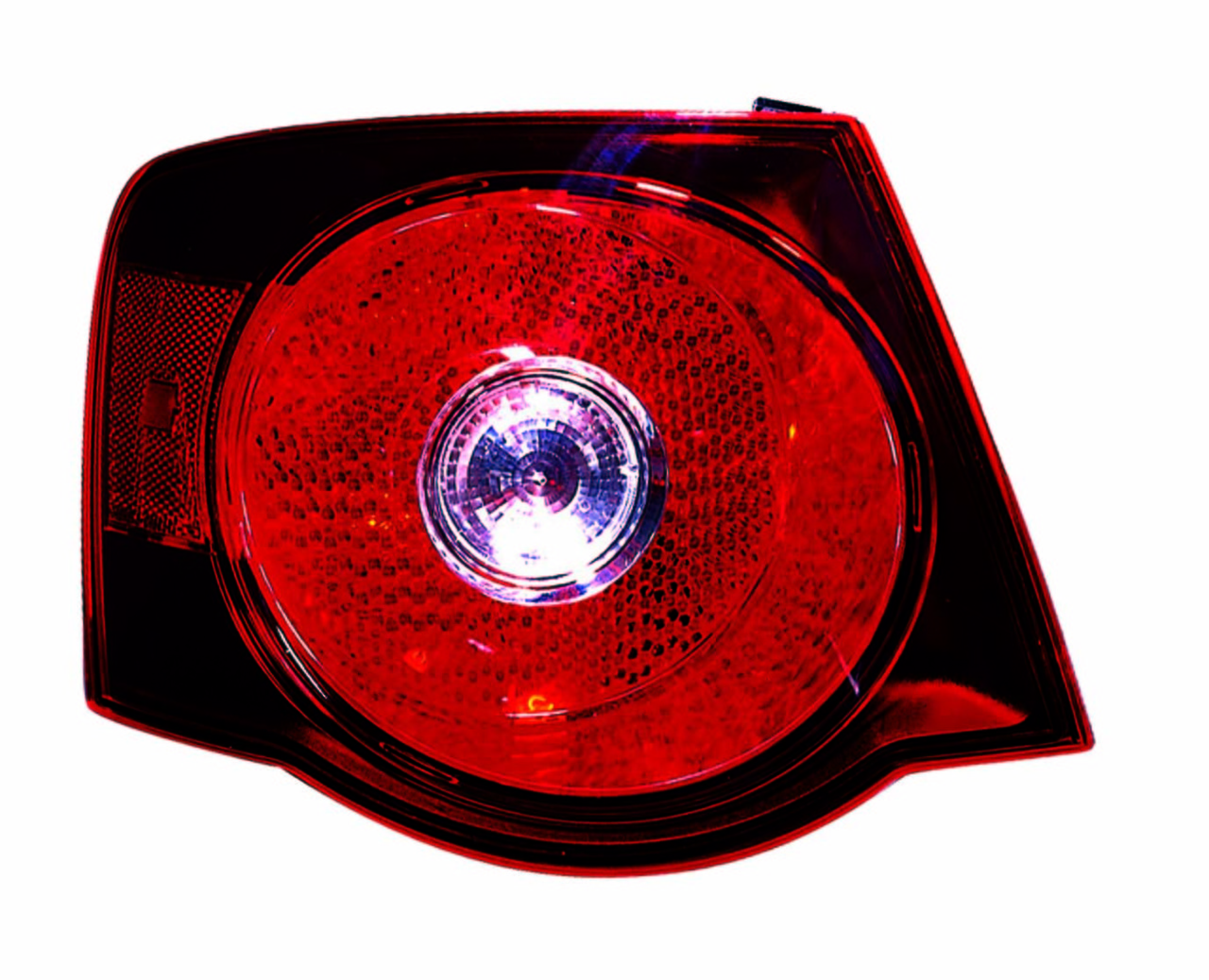 Volkswagen Jetta 2008 2009 2010 tail light left driver