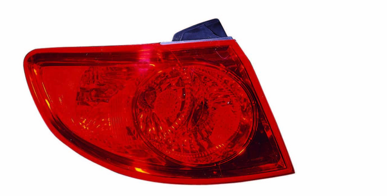 Hyundai Santa Fe 2007 2008 2009 tail light left driver