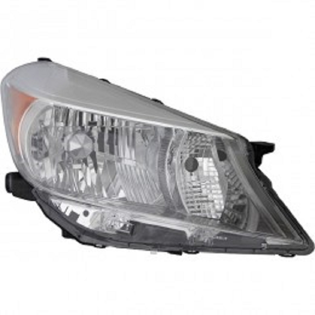 Toyota Yaris hatchback 2012 2013 2014 right passenger headlight