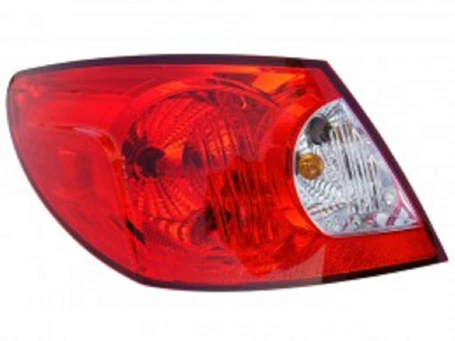 Chrysler Sebring sedan 2007 2008 tail light outer left driver
