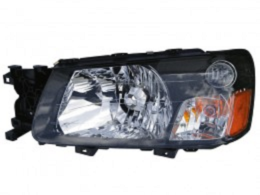 Subaru Forester 2003 2004 left driver headlight