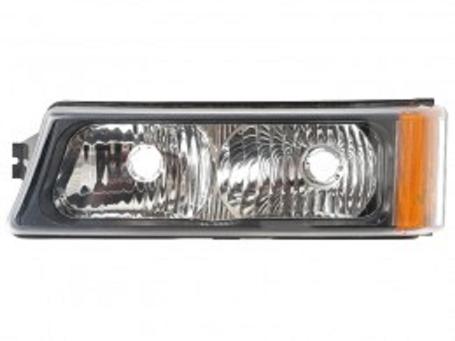 Chevrolet Silverado 1500/2500/3500 2003 2004 2005 2006 2007 left driver front signal light