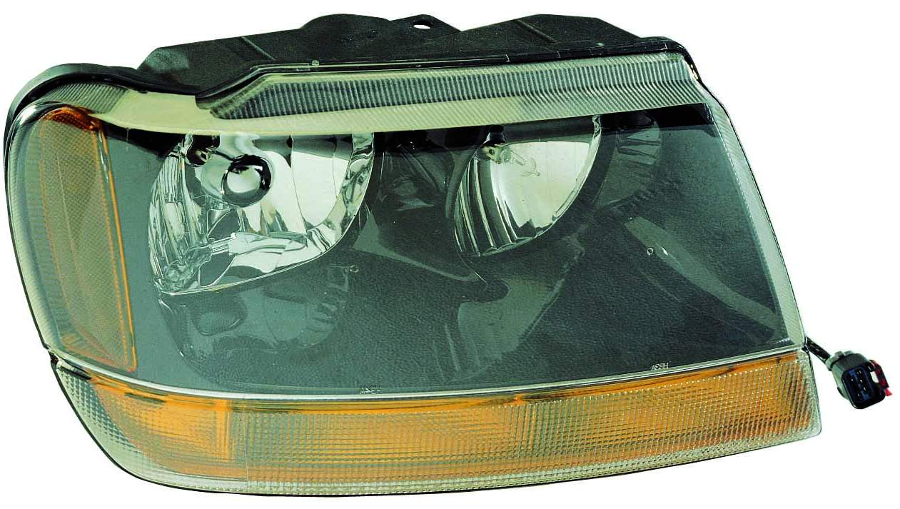 Jeep Grand Cherokee 2004 right passenger headlight Laredo Sport