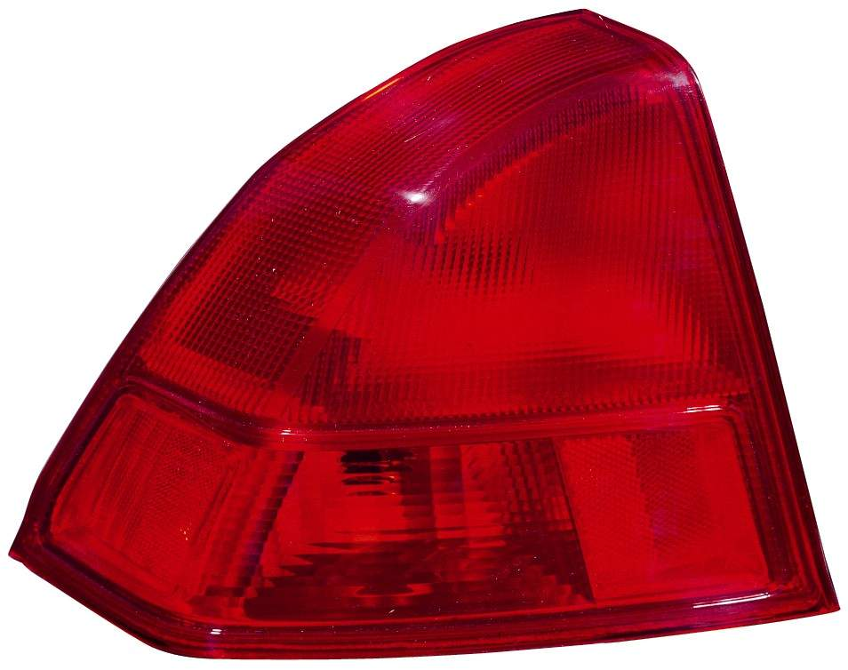 Honda Civic Sedan 2001 2002 tail light outer left driver