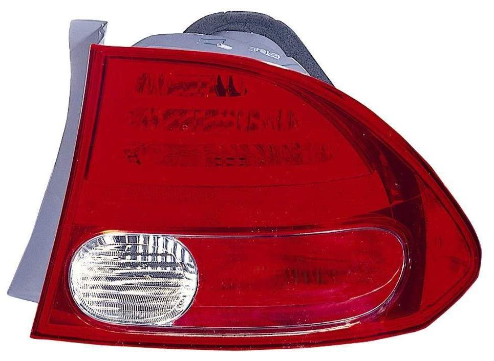 Honda Civic Sedan 2006 2007 2008 tail light outer right passenger