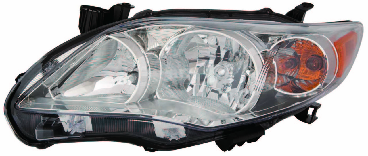 Toyota Corolla sedan 2011 2012 2013 left driver headlight