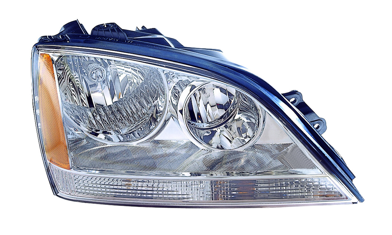 Kia Sorento 2005 2006 right passenger headlight