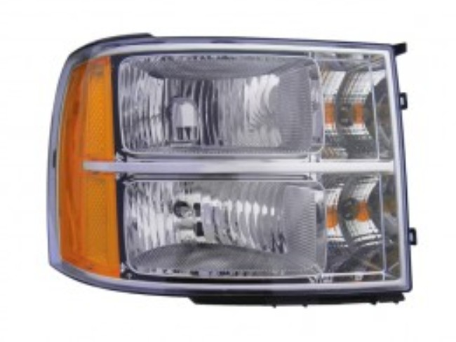 GMC Sierra 1500/2500/3500 2007 2008 2009 2010 right passenger headlight