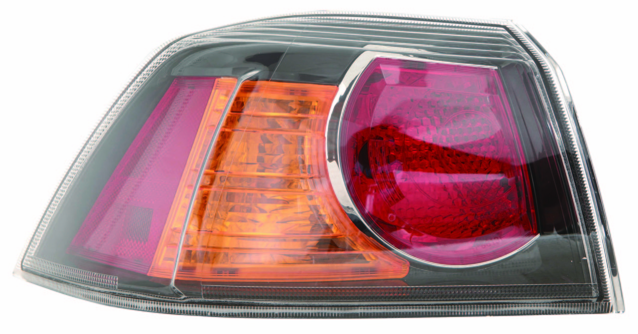 Mitsubishi Lancer 2010 2011 2012 2013 tail light left driver