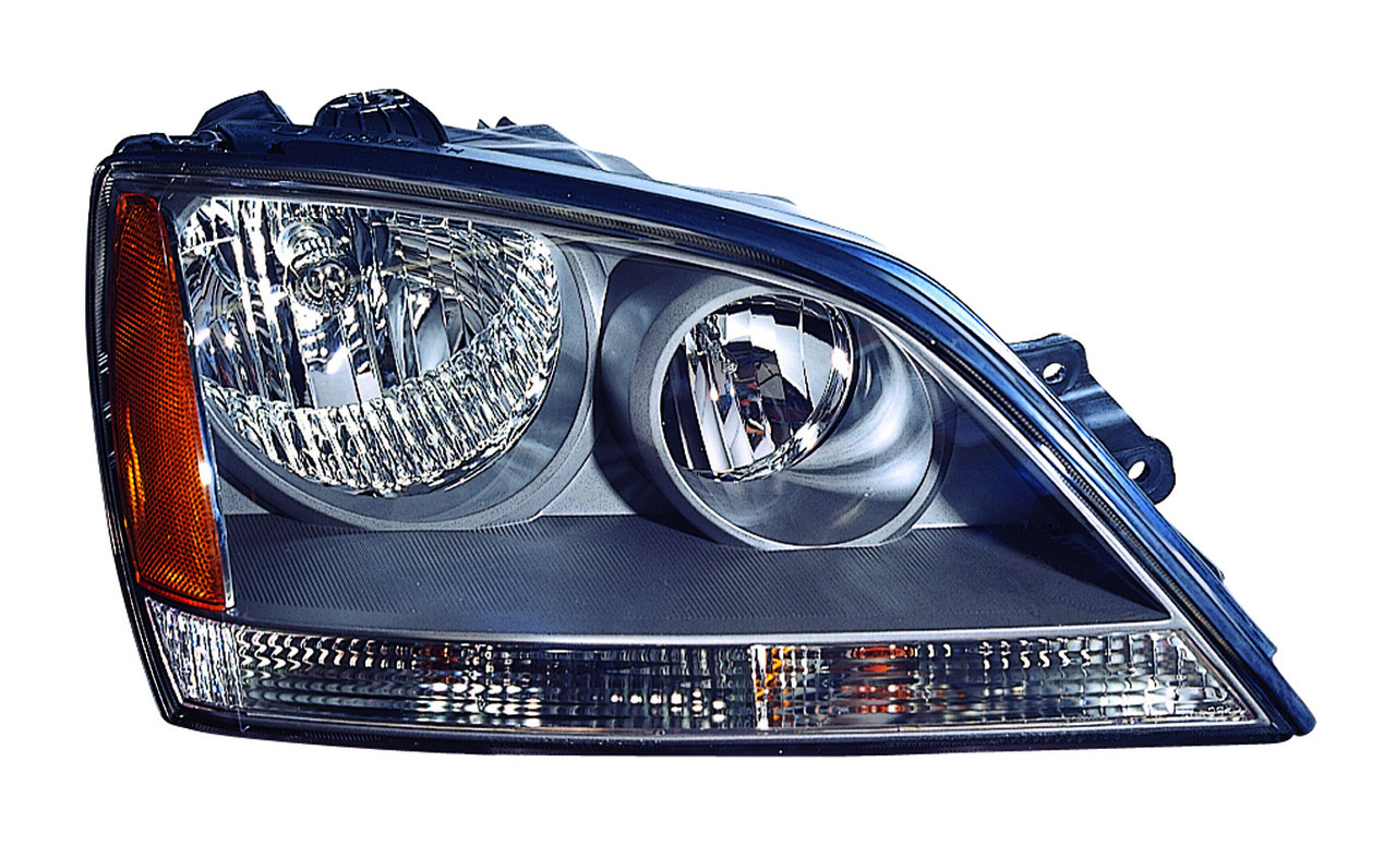 Kia Sorento 2005 2006 right passenger headlight sport model
