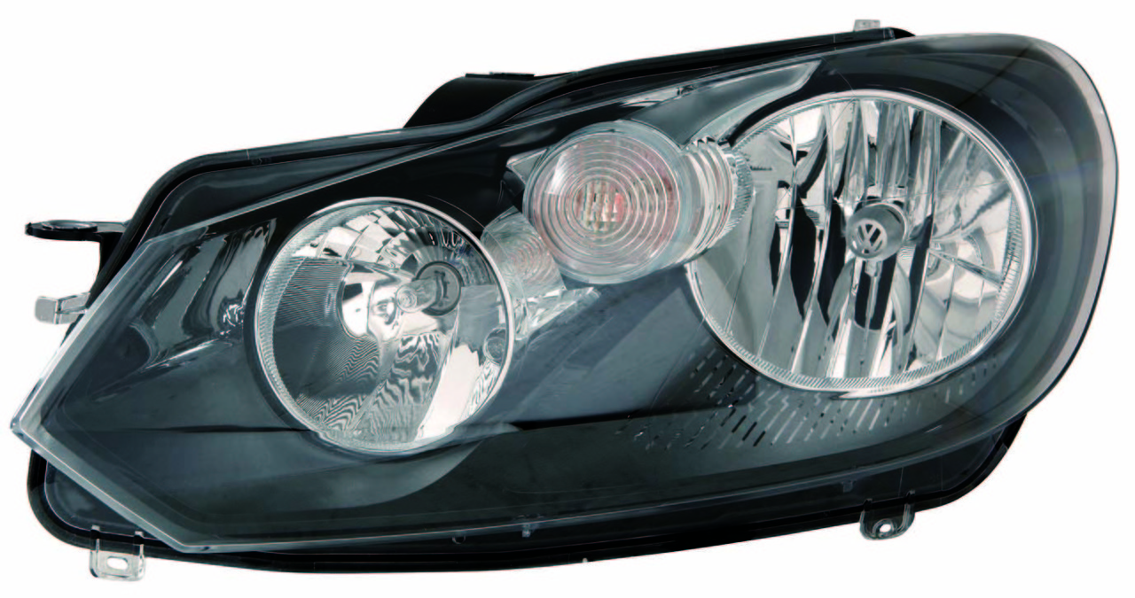 Volkswagen Golf 2010 2011 2012 2013 left driver headlight