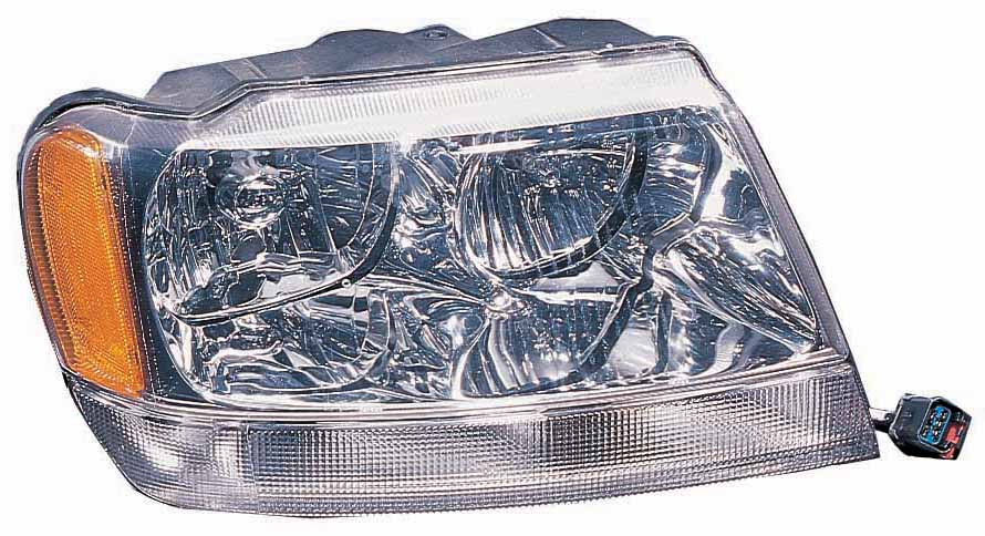 Jeep Grand Cherokee 1999 2000 2001 2002 2003 2004 right passenger headlight
