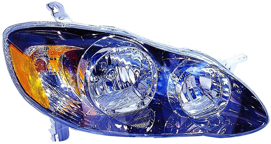 Toyota corolla sedan 2005 2006 2007 2008 right passenger headlight S / XRS model