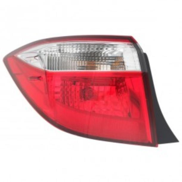 Toyota Corolla sedan 2014 2015 2016 tail light outer left driver