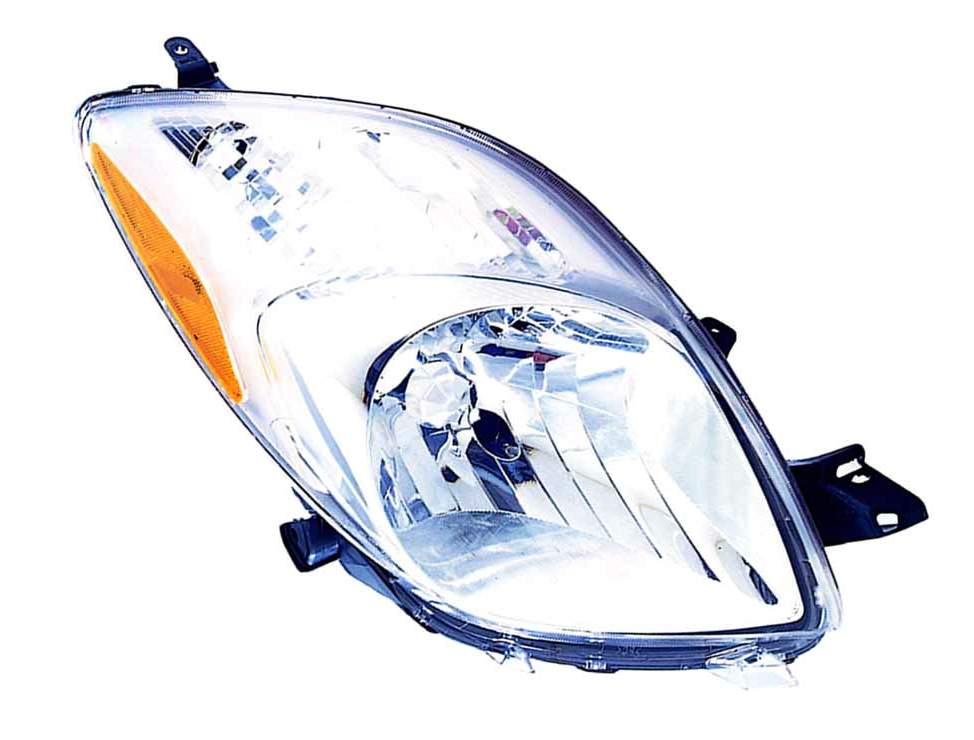 Toyota Yaris hatchback 2007 2008 right passenger headlight