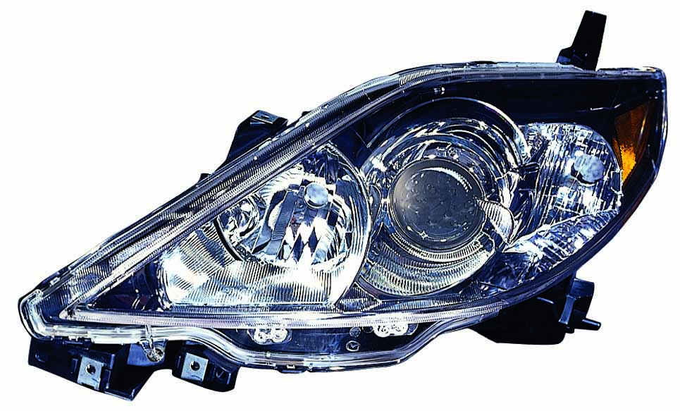 Mazda 5 2006 2007 left driver headlight