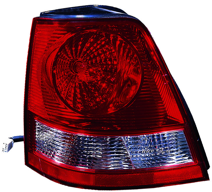 Kia Sorento 2003 2004 2005 2006 tail light left driver