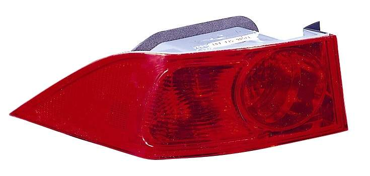 Acura TSX 2004 2005 tail light outer left driver