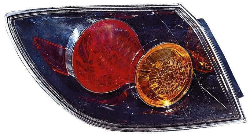 Mazda 3 Hatchback 2004 2005 2006 left driver tail light