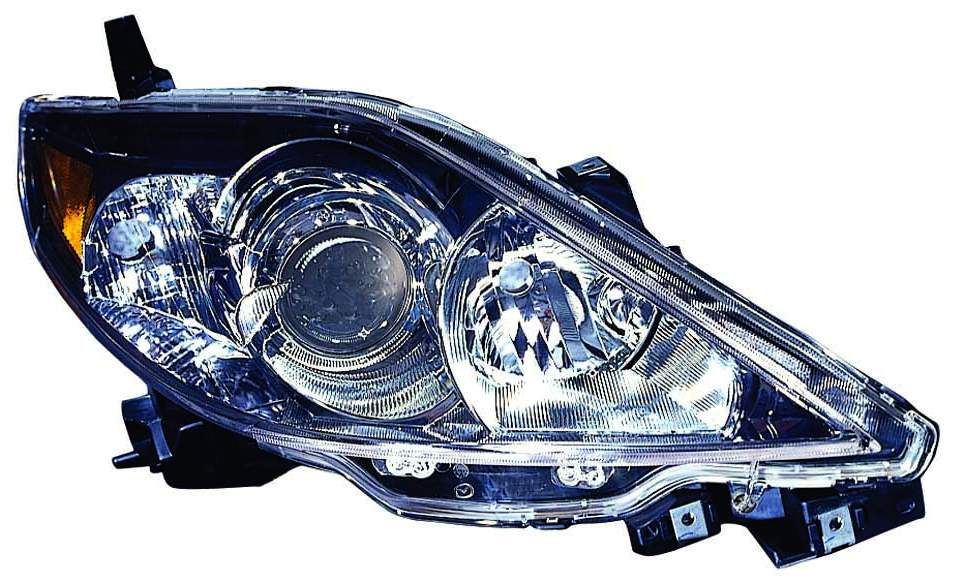 Mazda 5 2006 2007 right passenger headlight