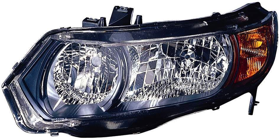 Honda Civic Coupe 2006 2007 2008 2009 left driver headlight