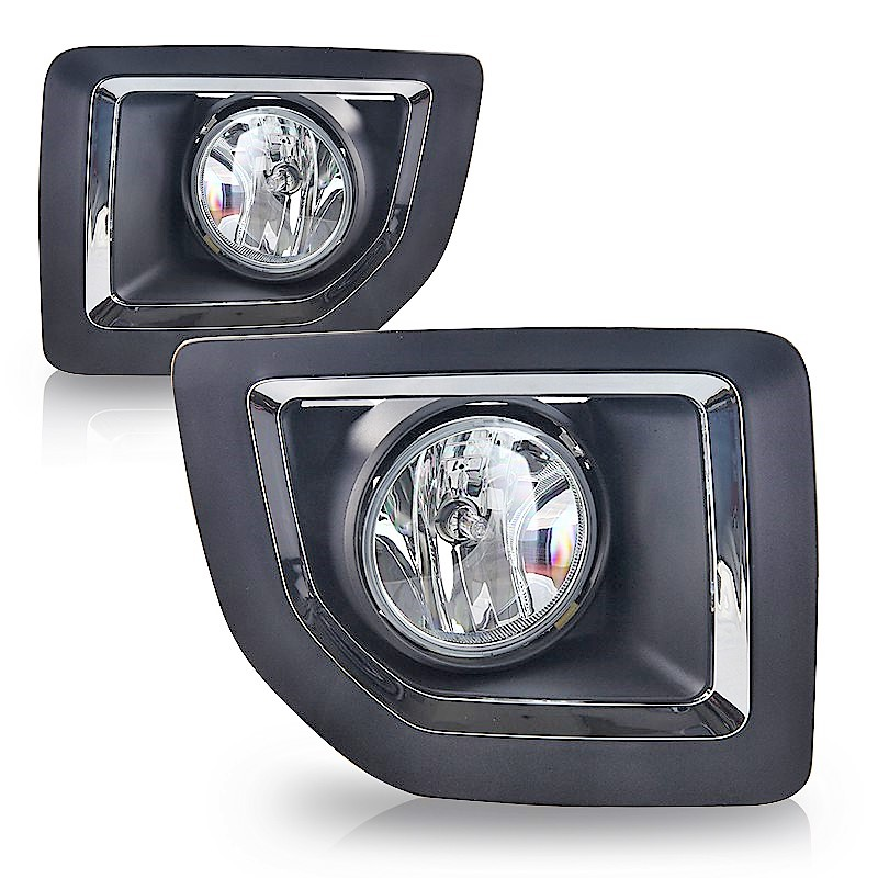 GMC Sierra 2500HD 3500HD 2015 2016 2017 2018 Left Right fog lights bezels & wiring kits