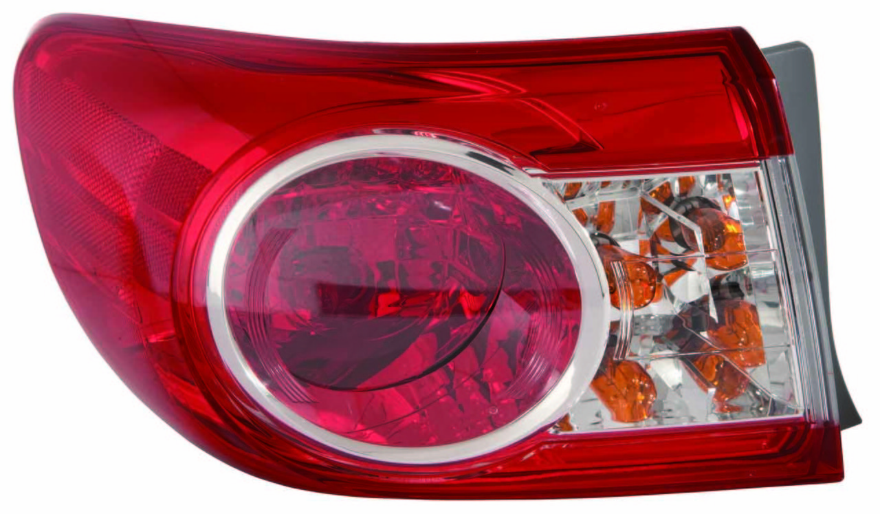 Toyota Corolla sedan 2011 2012 2013 tail light outer left driver