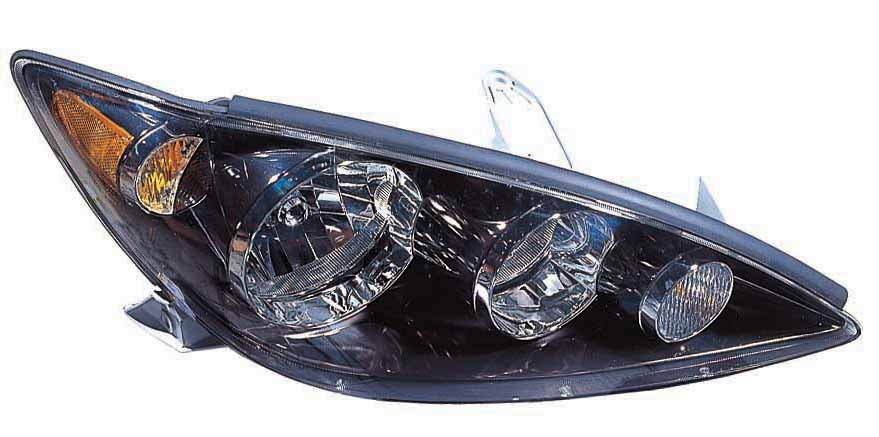 Toyota Camry 2005 2006 right passenger headlight SE model
