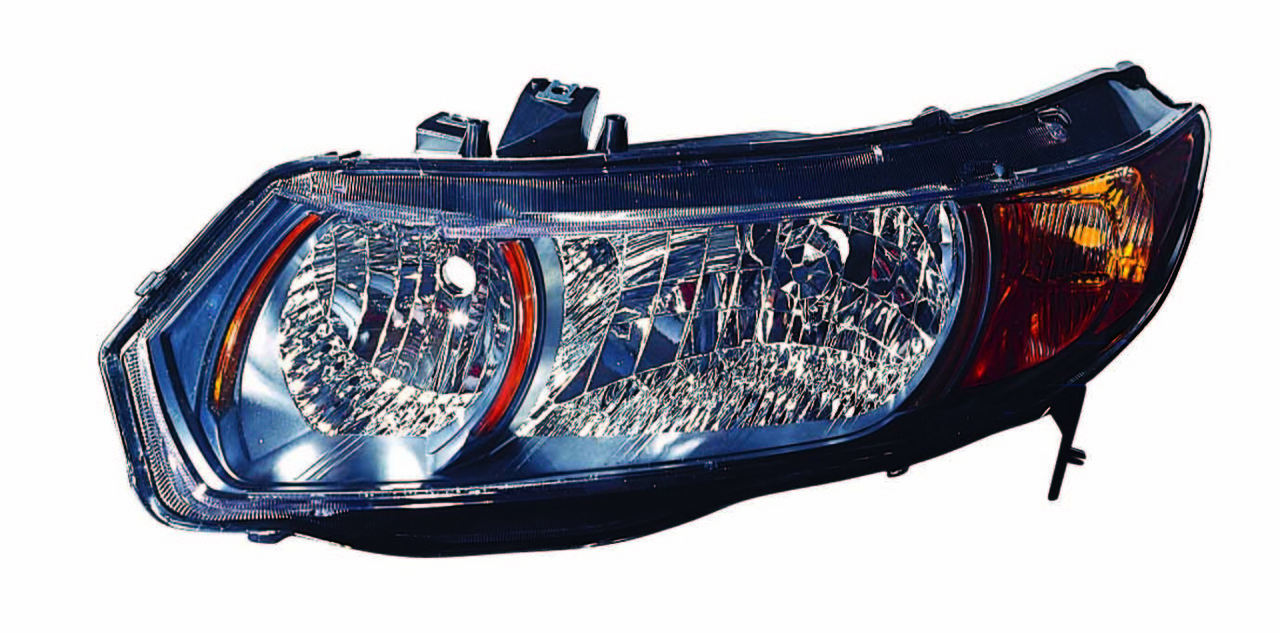 Honda Civic SI Coupe 2006 2007 2008 2009 left driver headlight