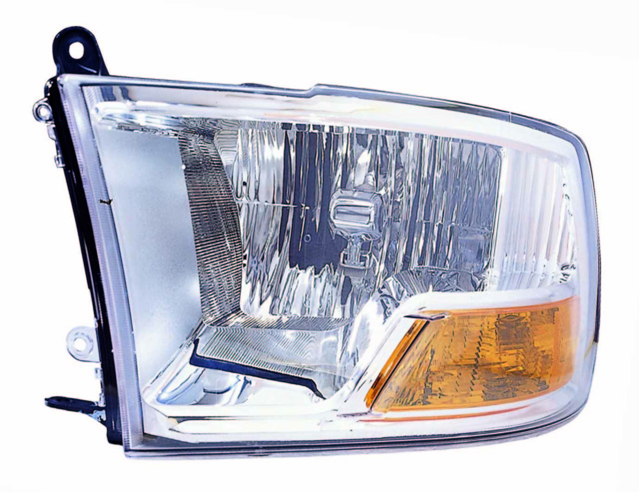 Dodge RAM 1500/2500/3500 2010 2011 2012 2013 2014 2015 left driver headlight (no quad lamp)