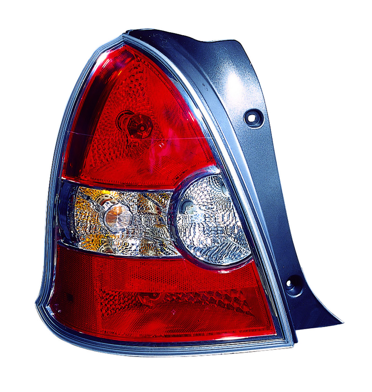 Hyundai Accent Hatchback 2008 2009 2010 2011 tail light left driver