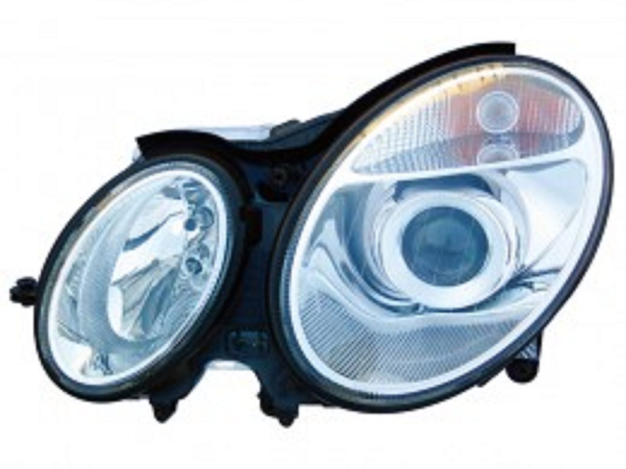 Mercedes Benz E class W211 sedan & wagon 2003 2004 2005 2006 left driver headlight