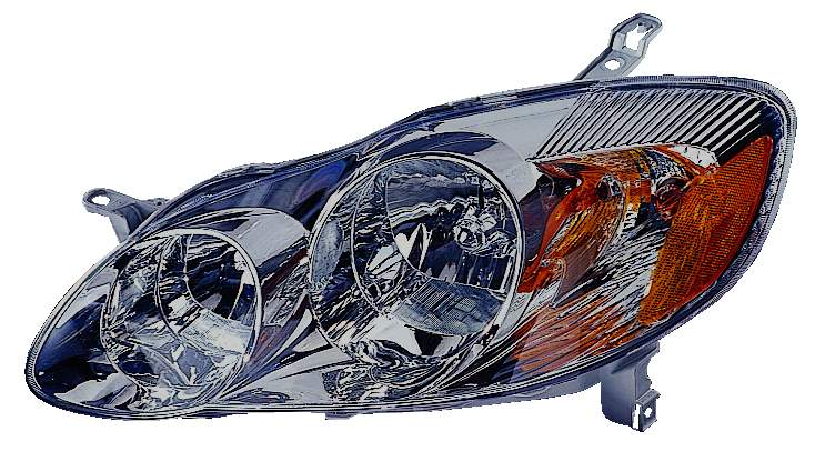 Toyota Corolla sedan 2003 2004 left driver headlight S model