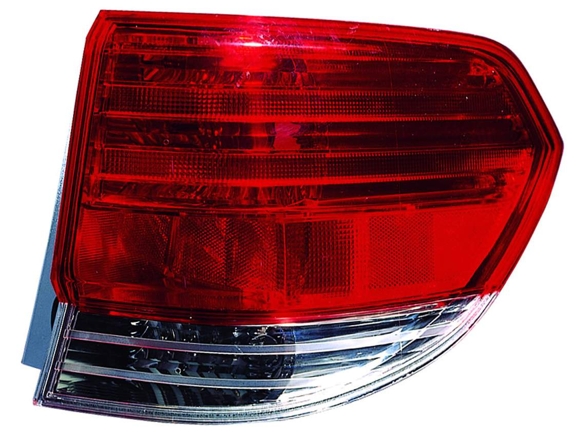 Honda Odyssey 2008 2009 2010 tail light outer right passenger
