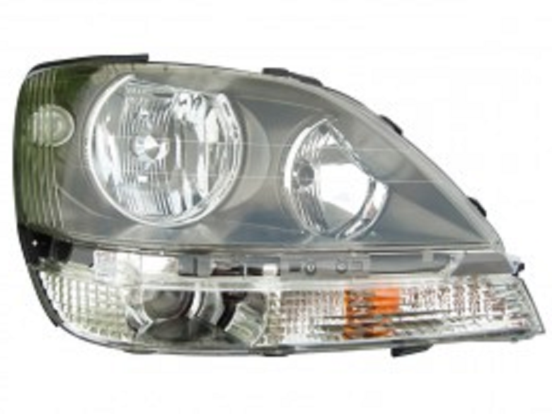 Lexus RX300 1999 2000 right passenger headlight