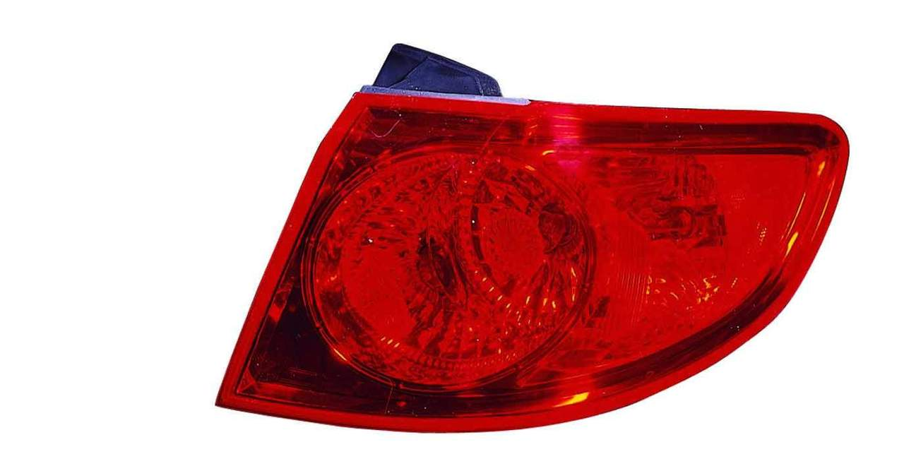 Hyundai Santa Fe 2007 2008 2009 tail light right passenger