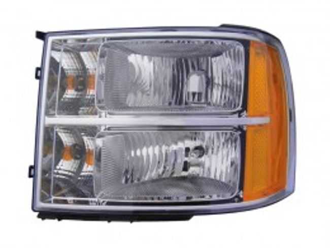 GMC Sierra 1500/2500/3500 2007 2008 2009 2010 left driver headlight