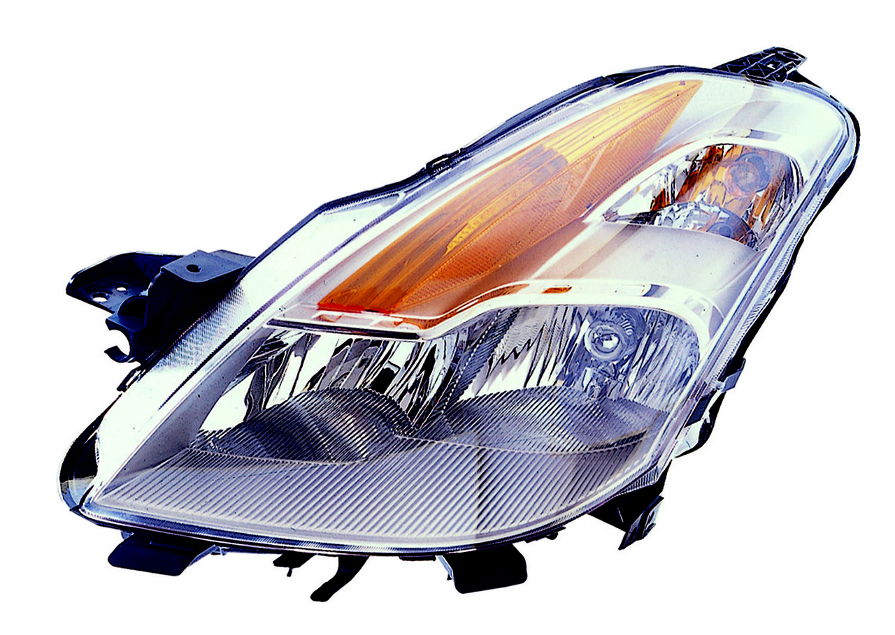 Nissan Altima Coupe 2008 2009 left driver headlight