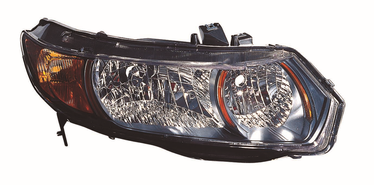 Honda Civic SI Coupe 2006 2007 2008 2009 right passenger headlight
